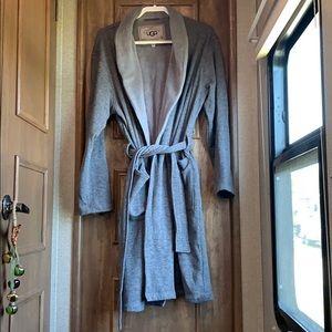 Grey UGG Robe With Pockets.